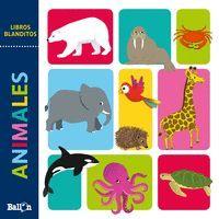 LIBROS BLANDITOS ANIMALES