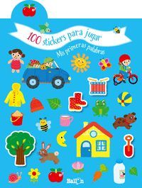 100 STICKERS PARA JUGAR PRIMERAS PALABRA