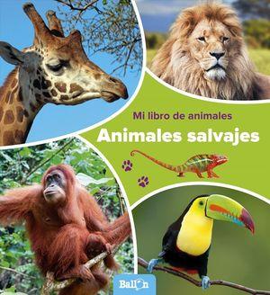 MI LIBRO DE ANIMALES SALVAJES