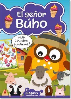 PASATIEMPOS INFANTILES SEÑOR BUHO 04