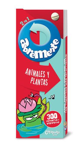 ABREMENTE. ANIMALES Y PLANTAS