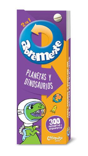 ABREMENTE. PLANETAS Y DINOSAURIOS
