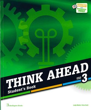 3ESO. THINK AHEAD STUDENTS BOOK BURLINGTON